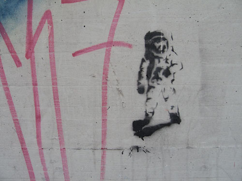 simple astronaut stencil - photo #13
